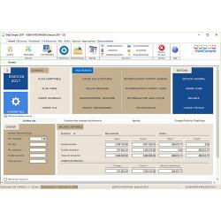 OdaCompta Basic Logiciel de  comptabilité Système Normal